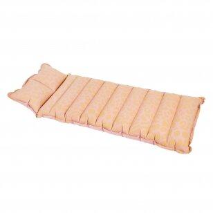 Pripučiamas gultas / plaustas Vintage Lie on COTW Pink
