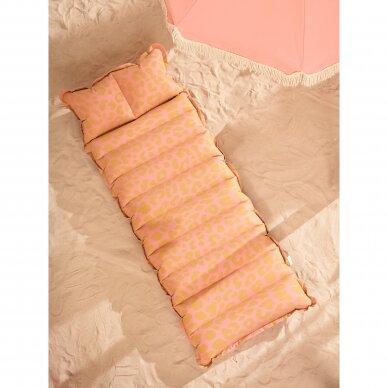 Pripučiamas gultas / plaustas Vintage Lie on COTW Pink 3