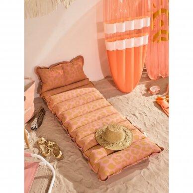 Pripučiamas gultas / plaustas Vintage Lie on COTW Pink 2