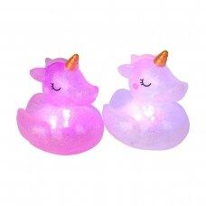 Šviečiantis vonios žaislas Unicorn