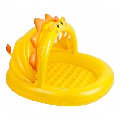 Vaikiškas pripučiamas baseinas Kiddy Lion